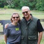 Lori with Gene Pinover, SRA President